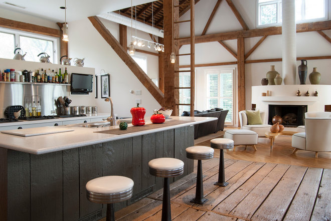 Farmhouse Kitchen by Adrienne DeRosa