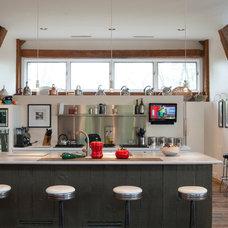 Farmhouse Kitchen by Adrienne DeRosa