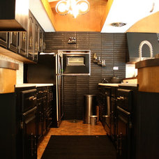 Eclectic Kitchen by Ieteke