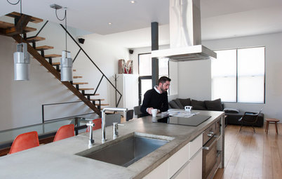 My Houzz: Minimalism Takes Shape in a Loft-Inspired Montreal Home