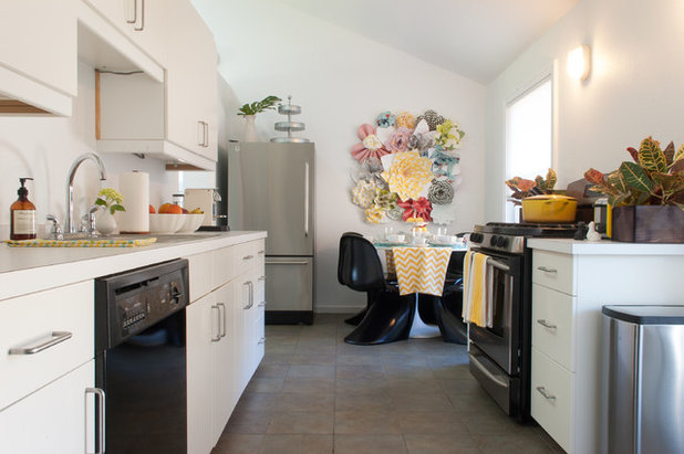 Eclectic Kitchen by Angela Flournoy