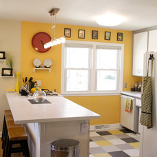 Eclectic Kitchen by Kaia Calhoun