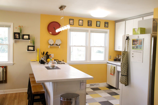 innovative yellow kitchen wall paint ideas | Cooking With Color: When to Use Yellow in the Kitchen