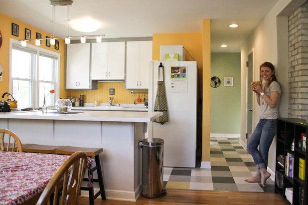 Eclectic Kitchen by Kaia Calhoun