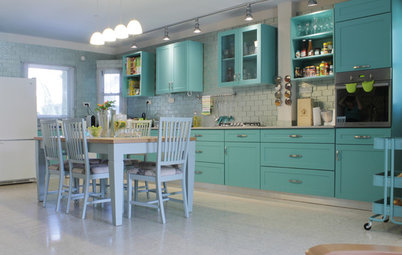 My Houzz: Candy Colors Add Pop to a Once-Neglected Home