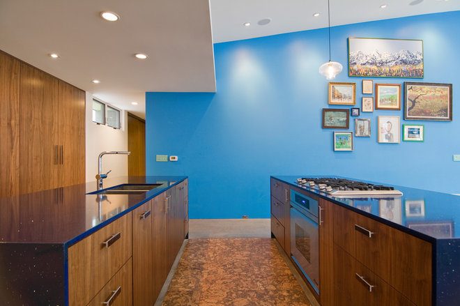 Contemporary Kitchen by Lucy Call