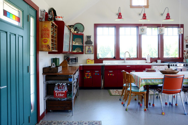 Eclectic Kitchen by Design Fixation [Faith Provencher]