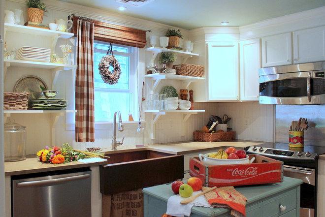 Farmhouse Kitchen by Sara Bates