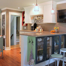 Farmhouse Kitchen by Sara Bates