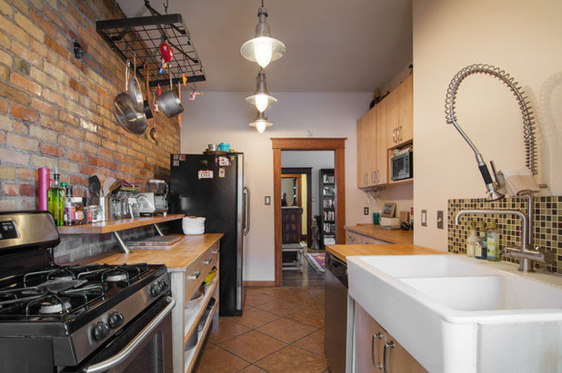 Eclectic Kitchen by Lucy Call