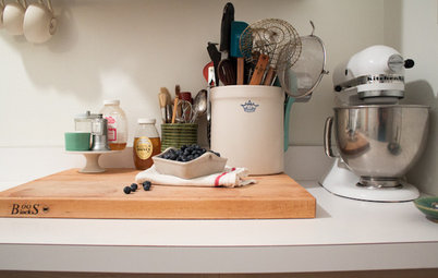 Kitchen of the Week: Tiny, Fruitful New York Kitchen