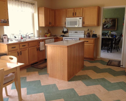 Cheap flooring ideas design ideas remodel pictures houzz for Affordable kitchen flooring ideas