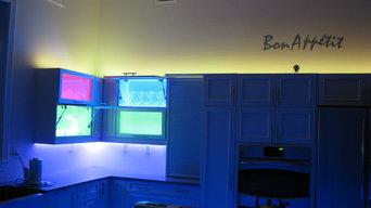 My LED kitchen