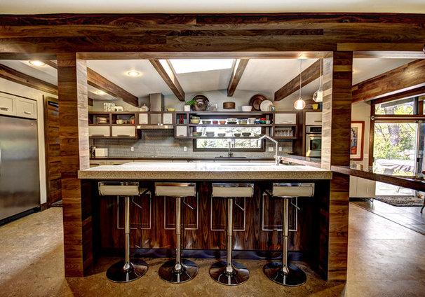 Midcentury Kitchen by Mindi Freng Designs