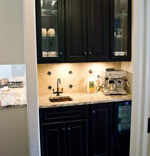Small Coffee Bar Home Design Ideas, Pictures, Remodel And