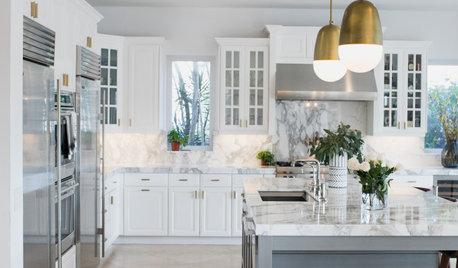 Fresh White Palette Brings Joy to Designer's Kitchen and Bedroom