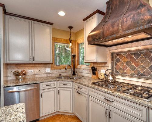 Kitchen Counter Backsplash kitchen granite backsplash | houzz
