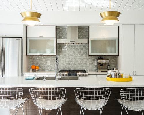 Midcentury Modern Kitchen Remodeling   Kitchen   Midcentury Modern Galley  Kitchen Idea In Other With A