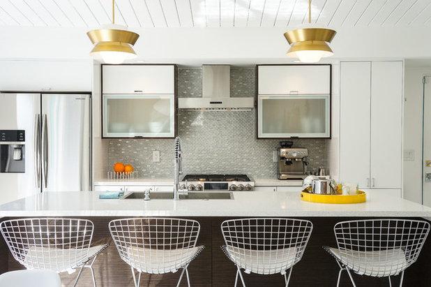Midcentury Kitchen by STRUKTR Studios Photography