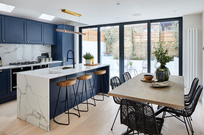 Contemporary Kitchen by Burbeck Project Managment