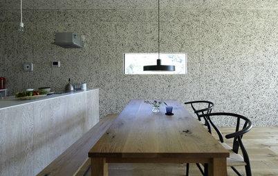 Materiales en bruto: Cómo aplicarlos para aportar calidez a un interior