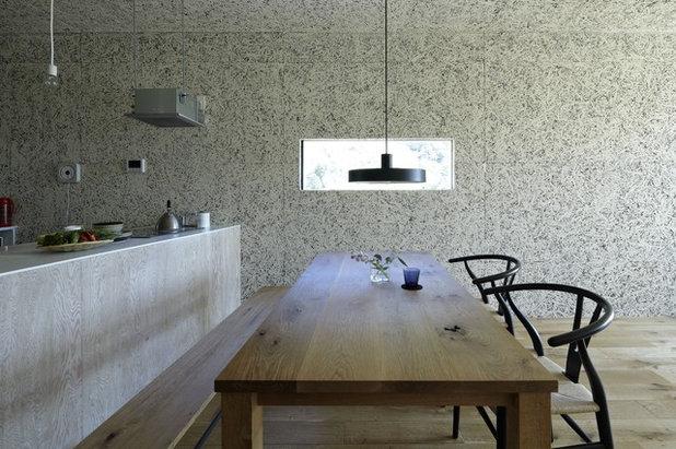 Contemporaneo Cucina by no.555 一級建築士事務所