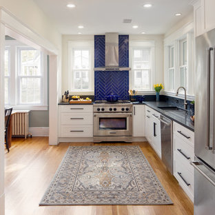 Granite Countertop With White Cabinets Houzz