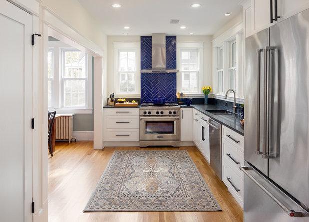 Transitional Kitchen by Jordan Design-Build Group