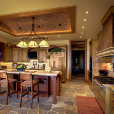 Rustic Kitchen by Timeless Interiors