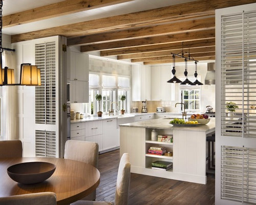 Nantucket beach house houzz for Nantucket style kitchen