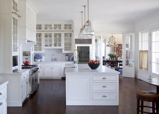 Traditional Kitchen by Jeannie Balsam LLC