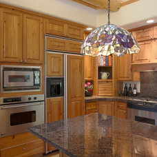 Traditional Kitchen by Apex Mountain Homes