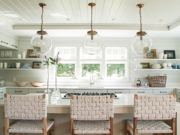 Beach Style Kitchen by Jill Howard Design Studio