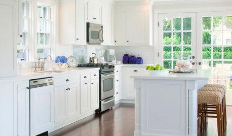 The Secret to Having a Blemish-Free White Kitchen