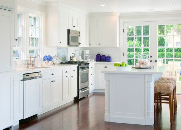 American Traditional Kitchen by Beach Glass Interior Designs