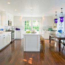 Traditional Kitchen by Beach Glass Interior Designs