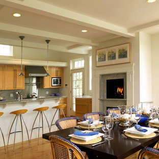 Nantucket Residence Kitchen & Dining Area