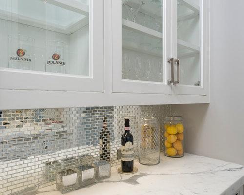 kleine k chen mit marmorboden ideen design bilder houzz. Black Bedroom Furniture Sets. Home Design Ideas