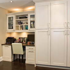Contemporary Kitchen Cabinetry by AyA Kitchens and Baths