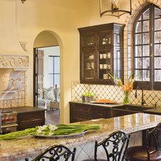 Mediterranean Kitchen by Geschke Group Architecture