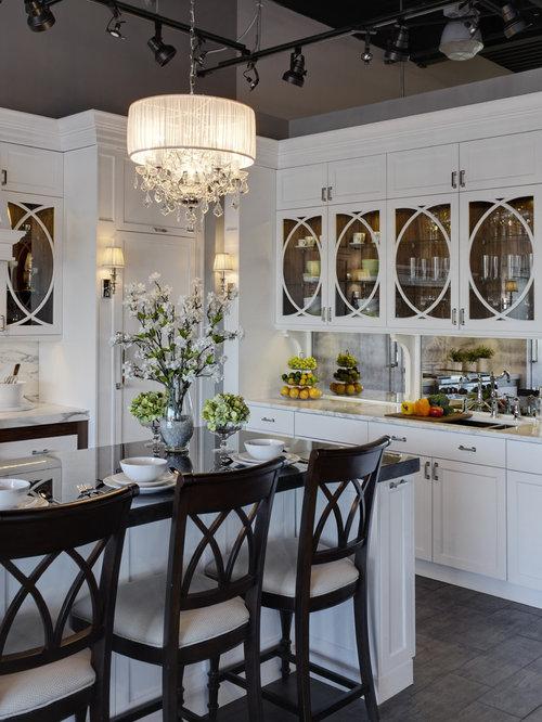 ... Trendy Fireplace Red Ralph Lauren Kitchen With Glfront Cabinets Design  Ideas With Ralph Lauren Kitchen Design ...