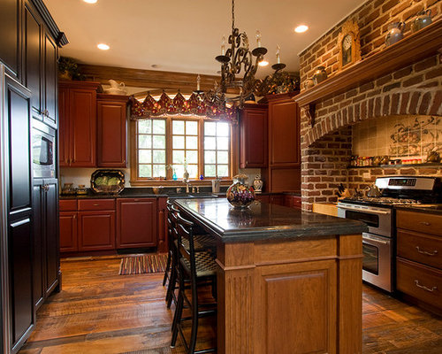 Brick Stove Surround Home Design Ideas Pictures Remodel