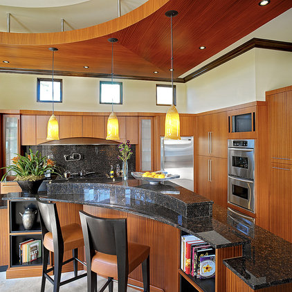 Asian Kitchen by Busby Cabinets