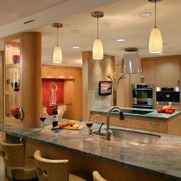 Naples condo kitchen