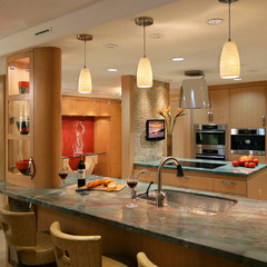 contemporary kitchen by Jenny Carter
