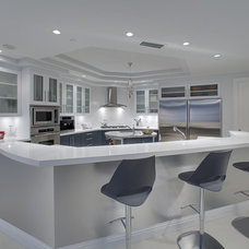 contemporary kitchen by Joie Wilson