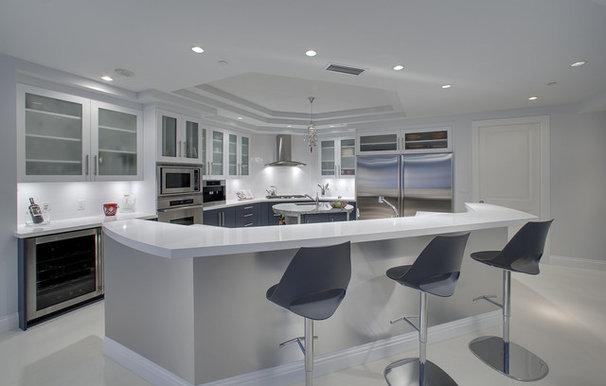 Contemporary Kitchen by Joie Wilson