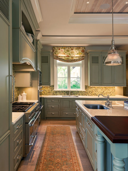 Sage Kitchen Cabinets Home Design Ideas, Pictures, Remodel and Decor