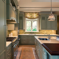 Traditional Kitchen by Theo and Isabella Design Group
