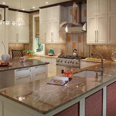 Contemporary Kitchen by Wyman Stokes Builder LLC